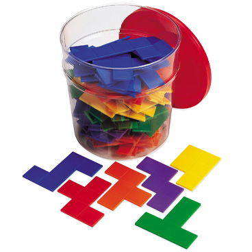 Learning Resources- Set forme geometrice Pentomino